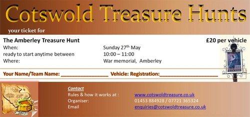 Product picture Cotswold Treasure Hunt Ticket